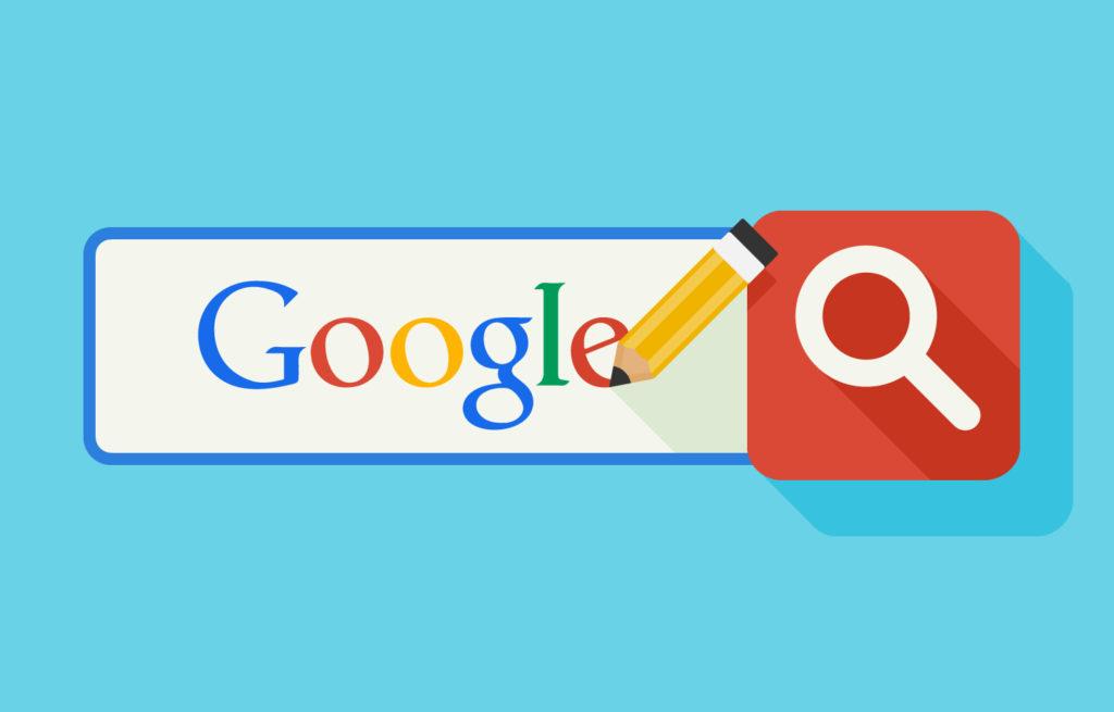 google logo in search bar