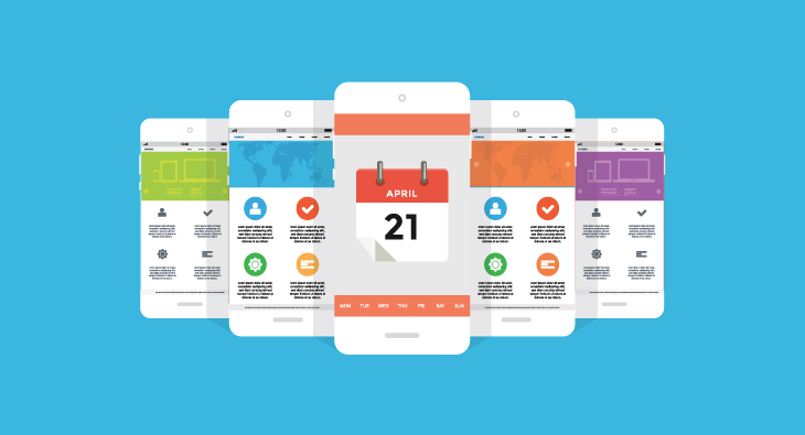 phone calendar image