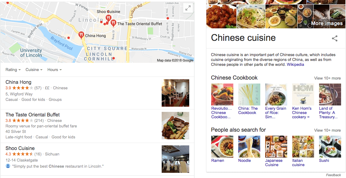 schema markup tool on chinese cuisine restaurants