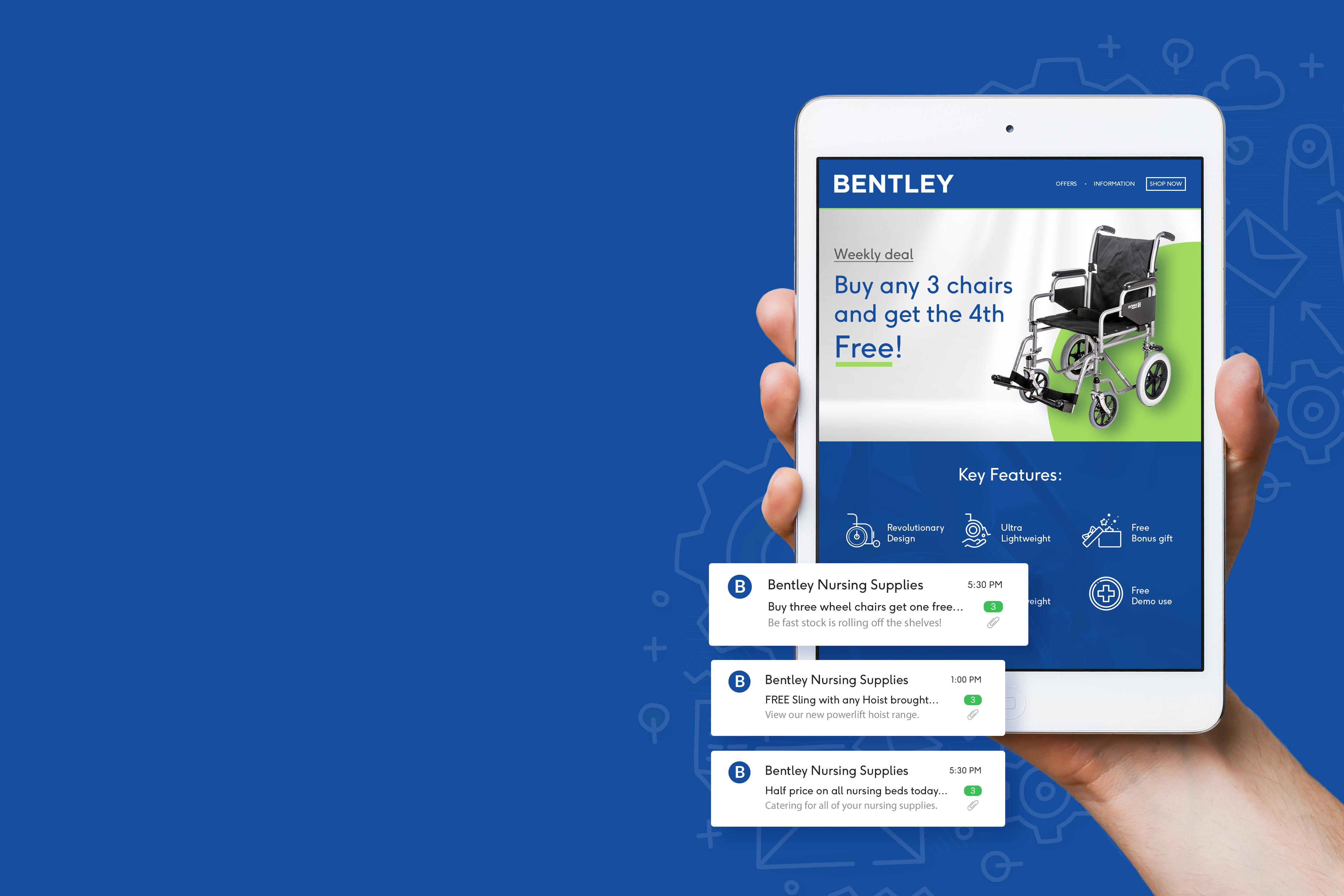 Bentley iPad offers
