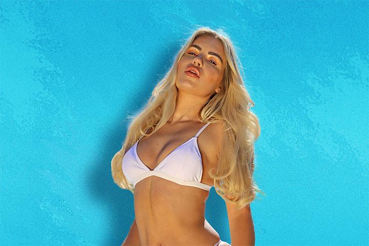 Chyna Ellis modelling Balibabe swimwear