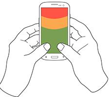 phone holding