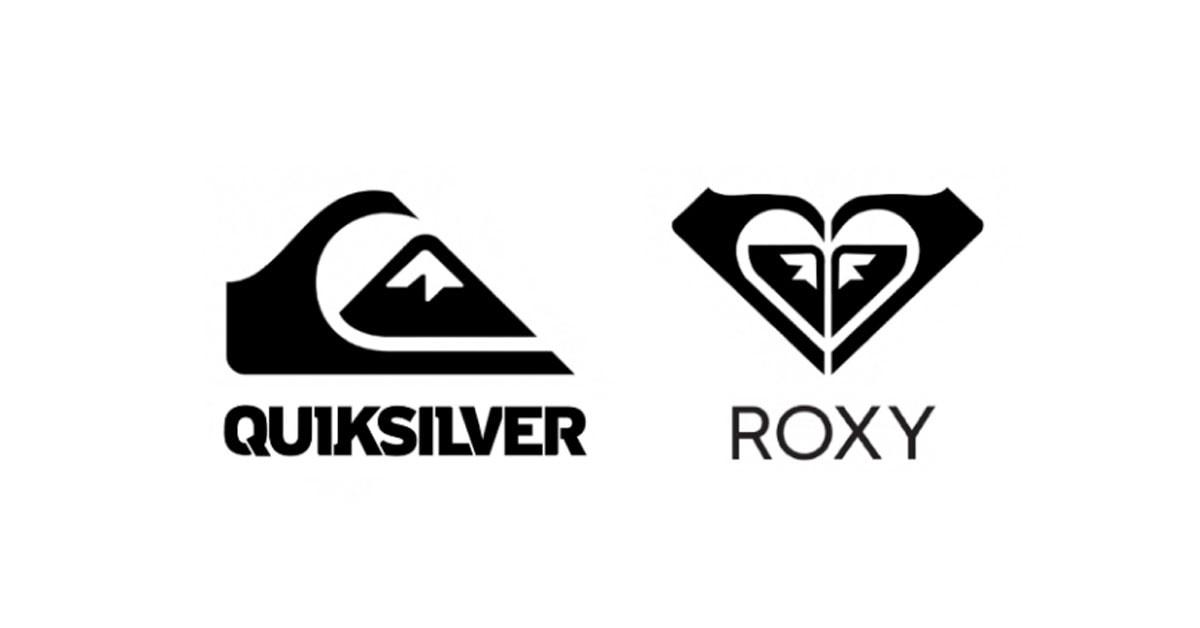QuickSilver and Roxy Logo