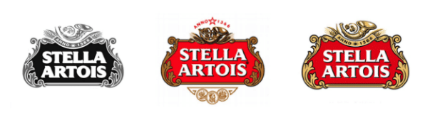 Stella Artois Logo Throughout the Years