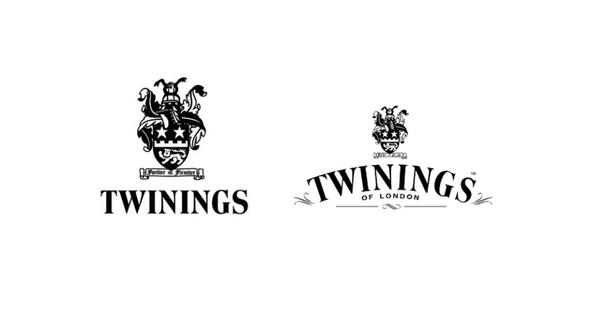 Twinings Tea throughout the years