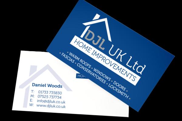 DJL Business Card Design
